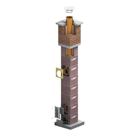 Leier LSK14-LSK16S kémény - 6 m