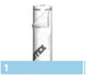 Leier párazáró tetőfólia (hálóerősítéssel) - 1,5 x 50 m
