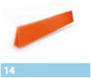 Leier vápaszegély szivacs - antracit - 1 m