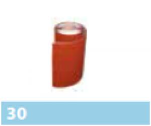 Leier kémény és falszegély lemez - barna - 5 m