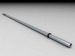 Leier korlátcső - téglavörös - 1000 mm