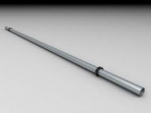 Leier korlátcső - antracit - 500 mm