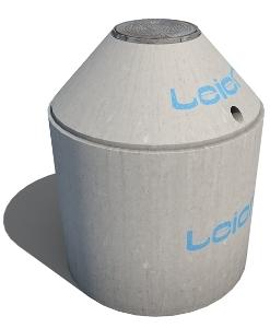 Leier LBT 5 vasbeton tartály