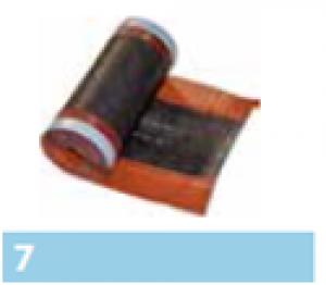 Leier Eco Roll univerzális kúpalátét - antracit - 5 m
