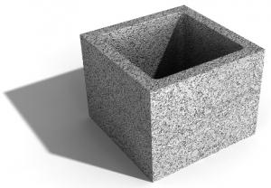 Leier pillérzsaluzó elem 20 - 20 x 20 x 23 cm