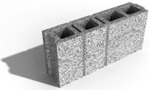 Leier válaszfalelem VF 10 - 10 x 50 x 22 cm