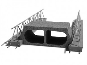 Leier béléstest EB 60/19B - 60 x 19 x 25 cm