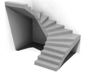 húzott karú lépcső