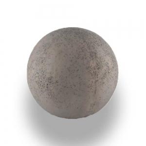 Leier Imperial díszgömb - palaszürke - 45 cm