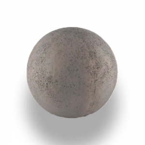 Leier Imperial díszgömb - palaszürke - 25 cm