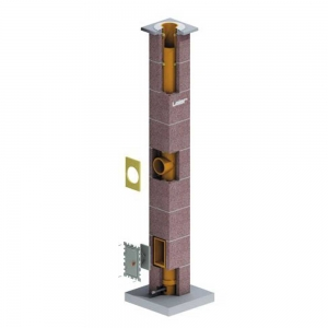 Leier LK22 kémény - 5 m