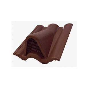 Leier Lux szellőzőcserép - barna