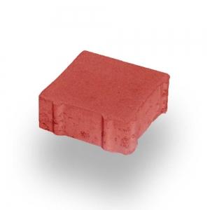 Leier Ökolith térkő 20x20x8 piros