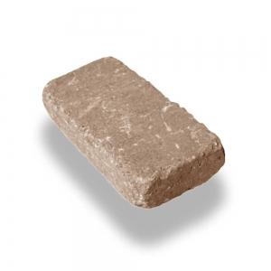 Leier Patio antik térkő és falazó 25×12,4x5 agyagbarna melírozott