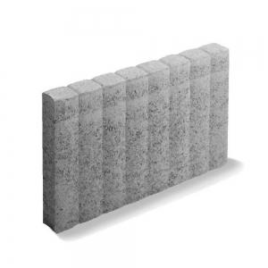Leier Quartz sorszegélykő - szürke - 50 x 6 x 30 cm