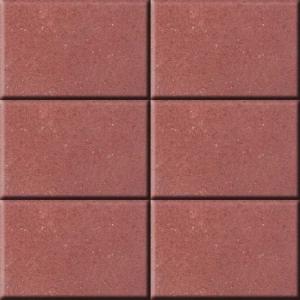 Leier Rollo térkő 20x10x6 piros