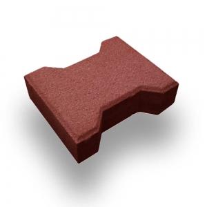 Leier Solido térkő - piros - 16,5 x 20 x 8 cm