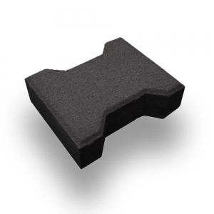 Leier Solido zökkenőmentes térkő - antracit - 16,5 x 20 x 8 cm