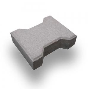 Leier Solido zökkenőmentes térkő - szürke- 16,5 x 20 x 8 cm