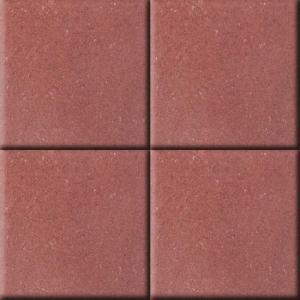 Leier Taktilis vezetőkő bordás 30x30x6 piros