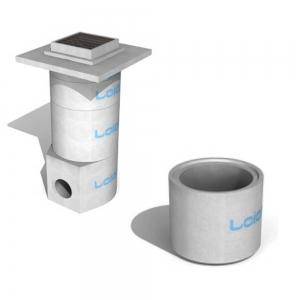 Leier V AGY 50/50 L  víznyelő aknagyűrű