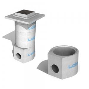 Leier V AFE 50/80 L/CSE 2x300/ ÁTF víznyelő fenékelem homokfogóval (2 csatlakozó elemmel)
