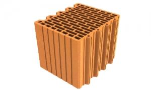 LeierPlan 30 N+F tégla, LeierFix univerzális ragasztóhabbal - 30 x 25 x 24,9 cm