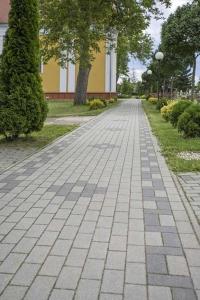 Leier Piazza térkő 10x10x6 antracit