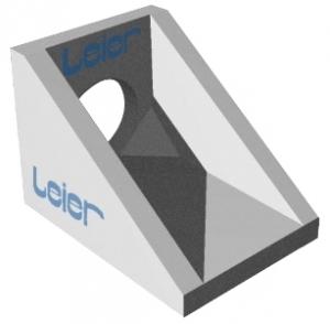 Leier LEF 30 1:1 tömbelőfej - 300 mm