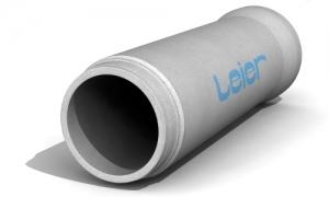 Leier TO TA 40/200 L/I tokos-talpas betoncső integrált gumitömítéssel