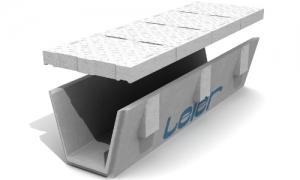 Leier ÁBE 40/50-200 L C250 árokburkoló elem