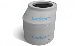 Leier VA 100/62,5/120 L+H vízóraakna, hágcsóval