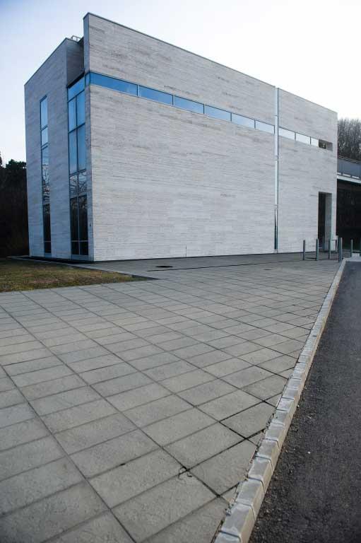 Leier Centrum finomszórt burkolólap - szürke